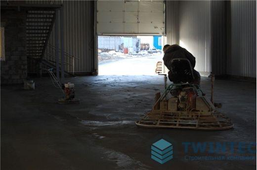 Промышленный пол на заводе, г.Киев 21 - СК ТВИНТЕК