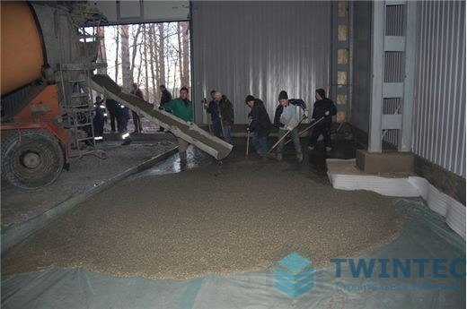 Промышленный пол на заводе, г.Киев 9 - СК ТВИНТЕК