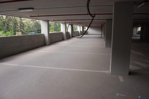 бетонный пол для паркинга